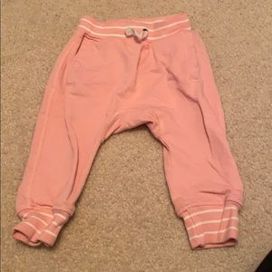 Hanna andersson pink joggers